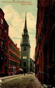 Massachusetts Boston The Old North Church 1913