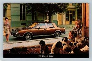 1980 Buick Skylark Sedan, Chrome Postcard