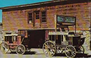 Wells Fargo Stage Coach Virginia City Montana