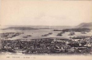 Toulon , Var department ,  France , 1910s La Rade