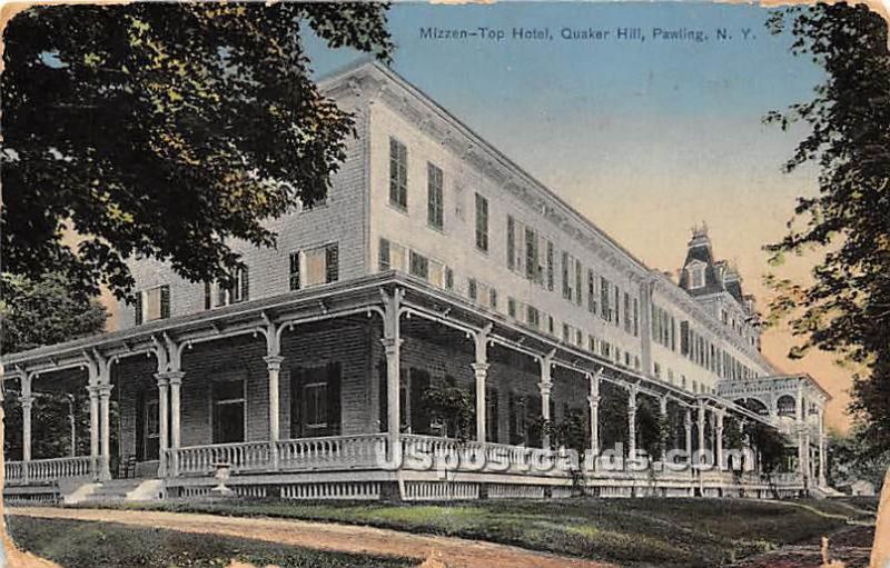 Missen Top Hotel Quaker Hill Pawling Ny Postal Used Unknown