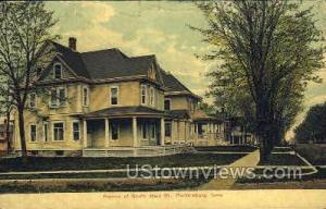 Portion of South Main Street Parkersburg IA 1908