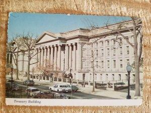 TREASURY BUILDING IN WASHINGTON DC.VTG UNUSED POSTCARD*P11