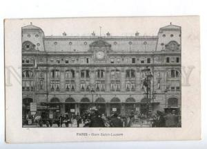173240 FRANCE PARIS Gare Saint-Lazare Station Vintage postcard