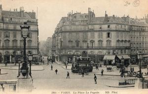 France Paris La Place La Fayette 01.52