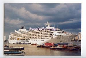 LN1426 - Cruise Liner - The World , built 2002 - postcard