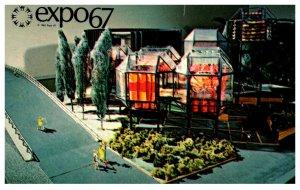 Canada Montral Expo 67  C.N.R. Pavilion