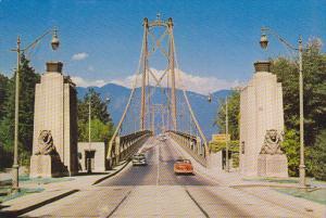 Stanley Park Entrance To Lions Gate Bridge Vancouver Canada