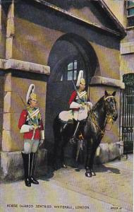 England London Horse Guards Sentries Whitehall