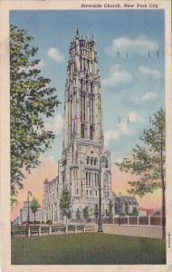 Riverside Church New York City New York 1947