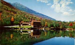 NY - Whiteface Mountain Memorial Hwy Tollhouse, Stevens Lake