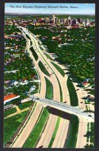 Texas DALLAS The New Express Highway Pub Martin News Agency - Chrome