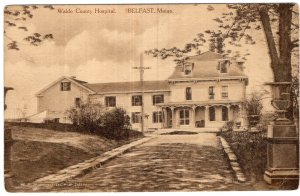 Belfast, Maine, Waldo County Hospital