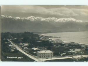 old rppc NICE VIEW Kaikoura New Zealand i1964