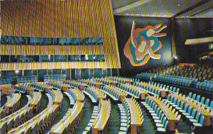 General Assembly Hall United Nations Headquarters New York City