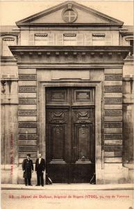CPA AK PARIS 7e 72 Rue de VARENNE. Hotel de Dufour (535013)