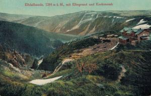 Czech Republic Elbfallbaude mit Elbegrund und Korkonosch 02.61