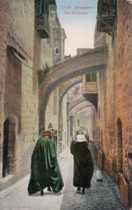 JERUSALEM , Israel , 00-10s ; Via Dolorosa