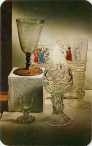 Corning Museum of Glass Corning Center NY New York English Glass Postcard