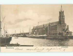 Pre-1907 NICE VIEW Hamburg Germany i5266