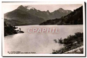 Old Postcard Corps Isere Lake Sautet and Chain of Faraud