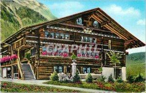 Postcard Modern Bernerhaus Chalet Oberland