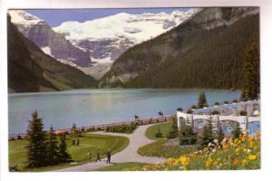 People, Swimming Pool, Chateau Lake Louise Alberta, Double L Color Productions