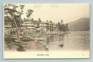 Chujenji Lake Japan Japanese Postcard