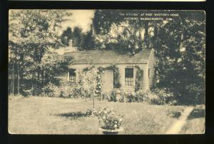 Amesbury, Massachusetts/MA/Mass Postcard, Kitchen At Poet Whitter's Home