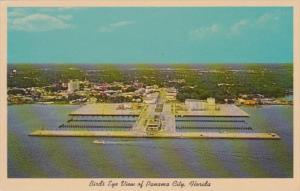 Florida Panama City Birds Eye View Showing New Marina and Auditorium