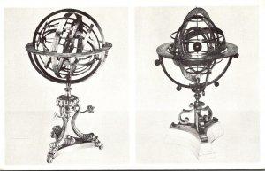 Illinois Chicago Adler Planetarium & Astronomical Museum Two Armillary Spheres