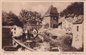 L´Alzette Au Pfaffenthal, Luxembourg, 1910-1920s