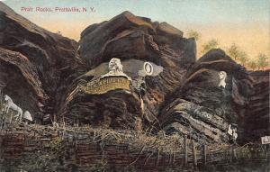 Pratt Rocks, Prattsville, New York, Early Postcard, Unused