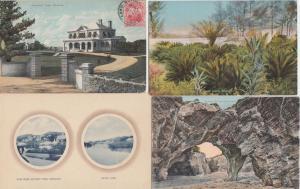 BERMUDA BERMUDES West Indies Antilles 39 CPA Mostly Pre-1950
