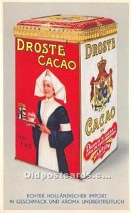 Droste Cacao Advertising Unused