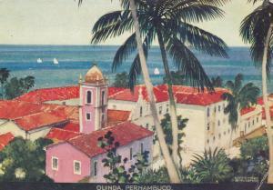 Olinda  , PERNAMBUCO , Brazil , 1930s ; Artist Kenneth Shoesmith