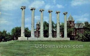 The Columns, Univ. of Missouri Columbia MO 1961