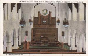 Ohio Tiffin Church Interior National Orphans Home Junior Order United America...