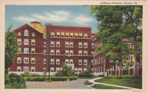 Illinois Moline The Lutheran Hospital 1938 Curteich