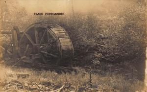 ABANDONED GRIST MILL, EARLY 1900'S  RPPC REAL PHOTO POSTCARD