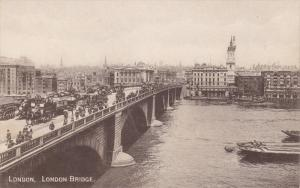 London Bridge, LONDON, England, UK, 1900-1910s