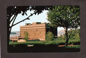 VT Radisson Burlington Hotel Vermont Postcard PC Carte Postale