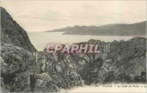 Old Postcard Piana - The Gulf of Porto