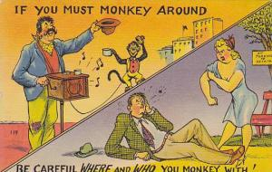 2-Views, Ethnic Music, Comic, Monkey, 1930-1940s