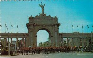 TORONTO, Ontario, 1976; Royal Canadian Mounted Police at Princes' Gates, CNE