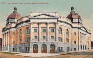 SEATTLE, Washington, 1900-10s; First Presbyterian Church