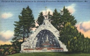 St. Anthony Franciscan Monastery in Kennebunkport, Maine
