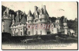 Old Postcard Rigny Usse Chateau