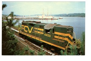 Railway Train, Brattleboro, Central Vermont,