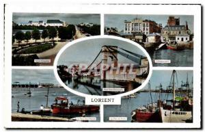 Postcard Modern Course Chazelles Lorient L & # 39embarcadere The submarine ba...